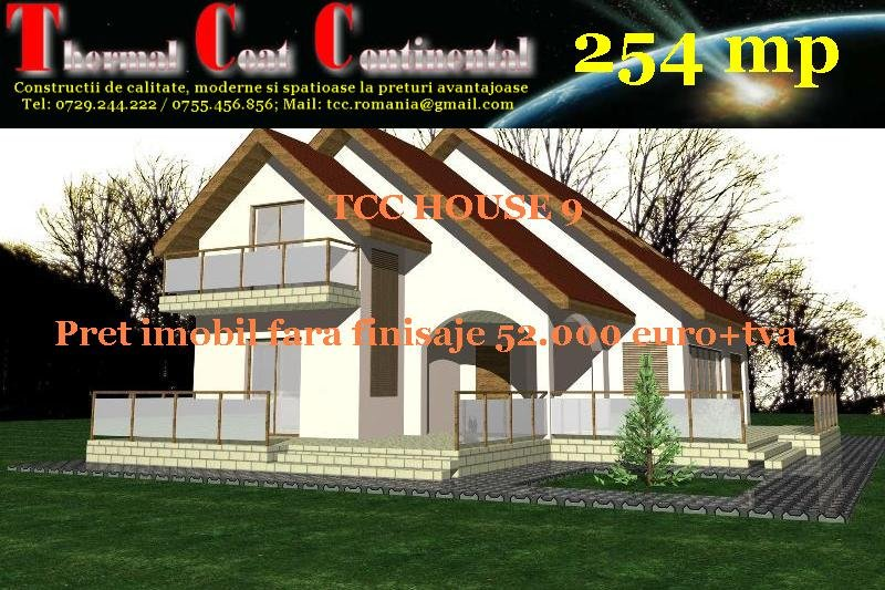 Case noi: TCC HOUSE 9, P+M=254 mp